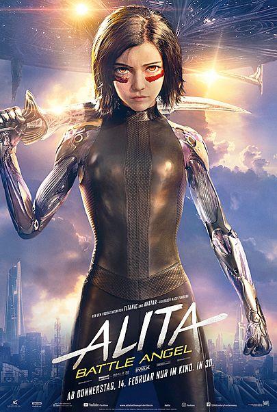 """Filmplakat für """"ALITA: BATTLE ANGEL"""""""