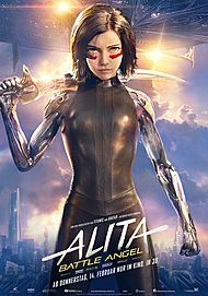 "Filmplakat für ""ALITA: BATTLE ANGEL"""