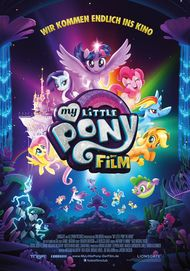 "Filmplakat für ""MY LITTLE PONY : THE MOVIE"""
