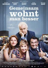 """Filmplakat für """"Gemeinsam wohnt man besser"""""""