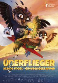 """Filmplakat für """"Überflieger - Kleine Vögel, großes Geklapper"""""""