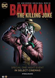 """Movie poster for """"Batman: The Killing Joke"""""""