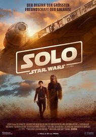 """Movie poster for """"Solo: A Star Wars Story"""""""
