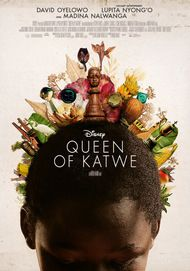 """Movie poster for """"The Queen of Katwe"""""""