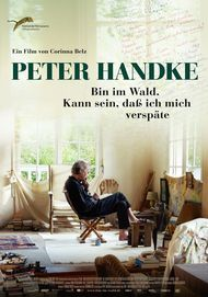 "Filmplakat für ""Peter Handke in the woods"""