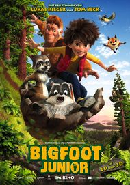 "Filmplakat für ""Bigfoot Junior"""