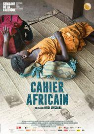 """Filmplakat für """"Cahier Africain"""""""