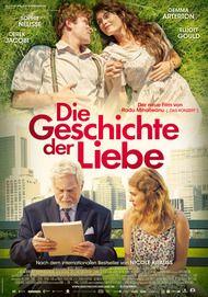"""Filmplakat für """"Die Geschichte der Liebe"""""""