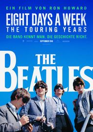 "Filmplakat für ""THE BEATLES: EIGHT DAYS A WEEK"""