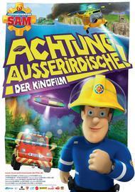 """Movie poster for """"Fireman Sam: Alien Alert"""""""
