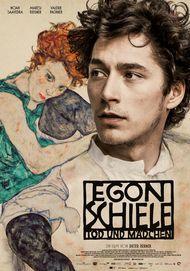 """Filmplakat für """"EGON SCHIELE: TOD UND MADDCHEN"""""""