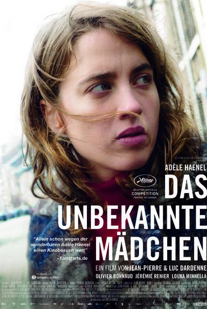 """Filmplakat für """"Das unbekannte Mädchen"""""""