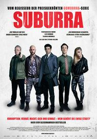 """Movie poster for """"SUBURRA"""""""