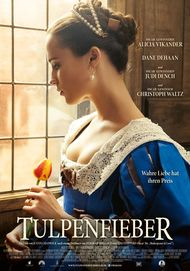 "Movie poster for ""Tulip fever"""