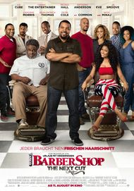 """Movie poster for """"Barbershop: The next Cut"""""""