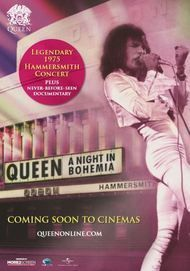 "Filmplakat für ""QUEEN: A NIGHT IN BOHEMIA"""