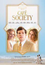 """Filmplakat für """"CAFE SOCIETY"""""""