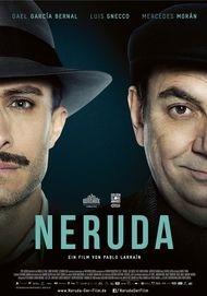 """Filmplakat für """"NERUDA"""""""