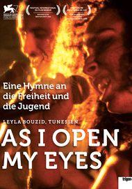 """Filmplakat für """"As I Open My Eyes - Kaum öffne ich die Augen"""""""