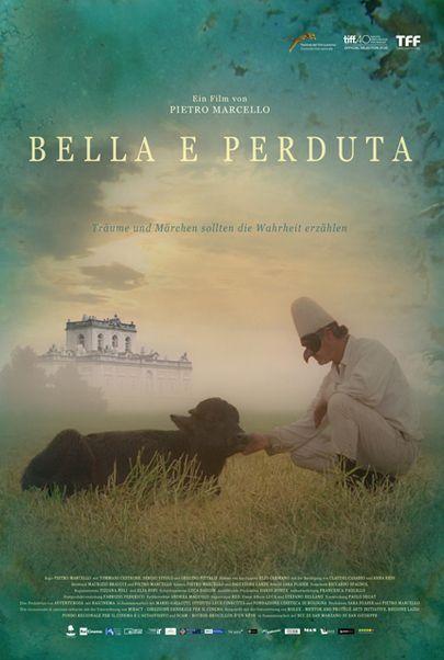 """Filmplakat für """"Bella e perduta - Eine Reise durch Italien"""""""