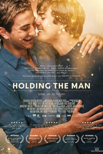 """Filmplakat für """"Holding the Man"""""""